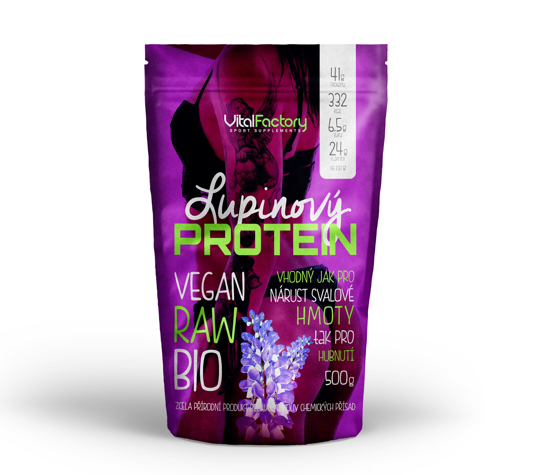 Lupinový protein Vital Factory